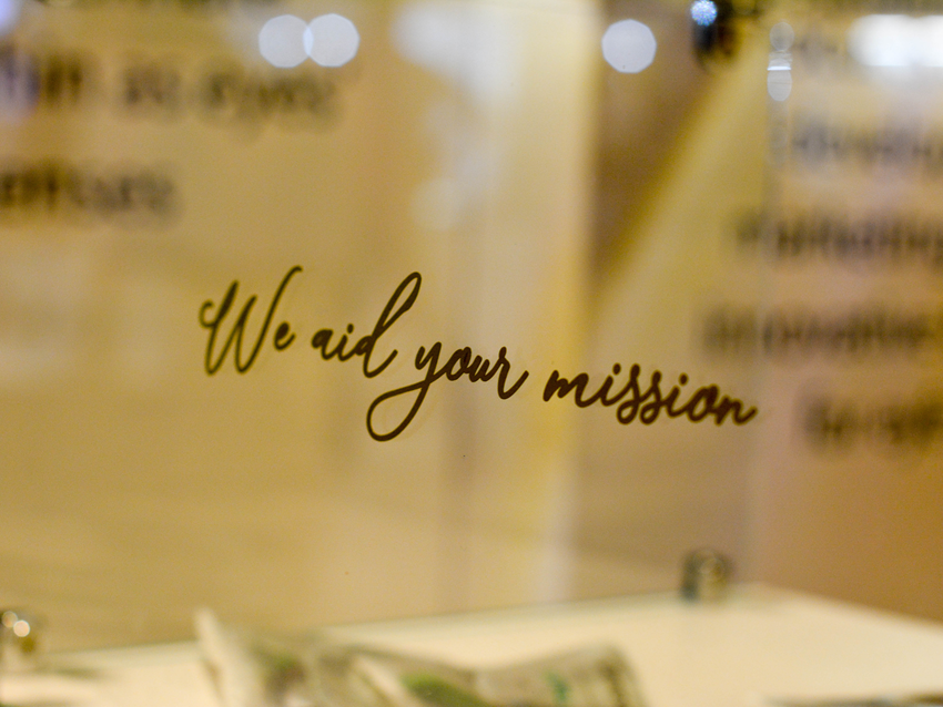 WE AID YOUR MISSION